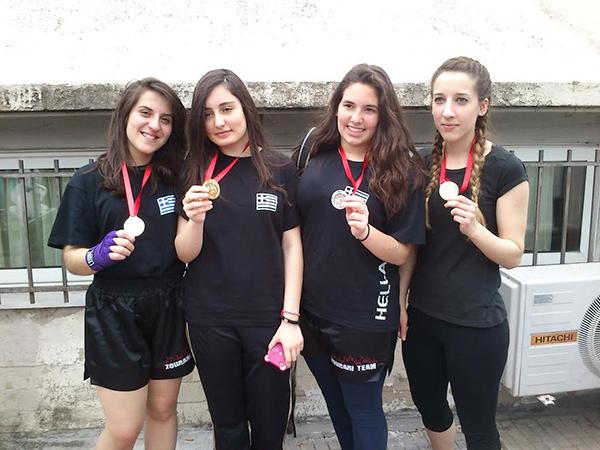 || Η αθλήτρια του συλλόγου μας Νίκη Ζαχαράκη που τον Ιούνιο πήρε 2η θεση στο βαλκανικό πρωτάθλημα στην Τουρκία στο sanda! ||