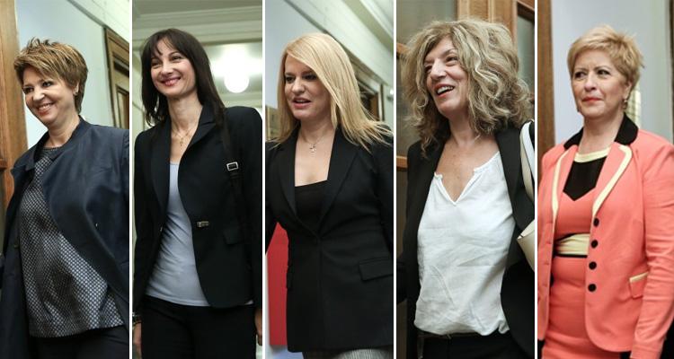 WOMEN-GOV-SYRIZA