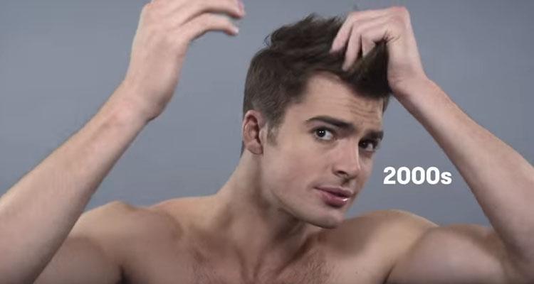 63419c69263 Η ανδρική ομορφιά εδώ και έναν αιώνα... σε 1,5 λεπτό! (video)