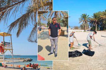 παραλία του Αγ. Κοσμά