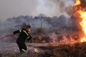 πυρκαγιά-πληγέντες